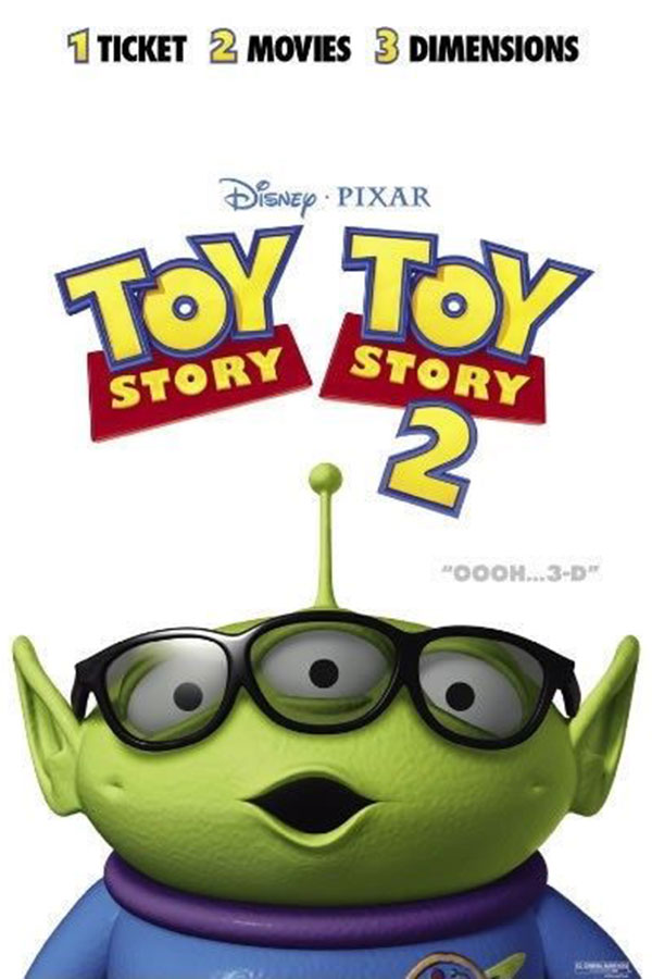 Toy Story 1 & 2 3D
