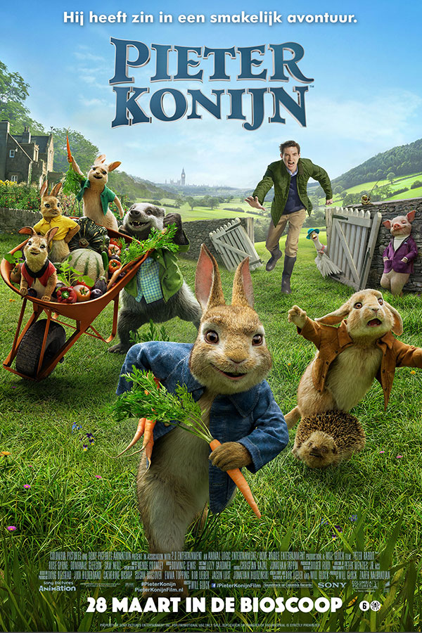 Peter Rabbit (Pieter Konijn)