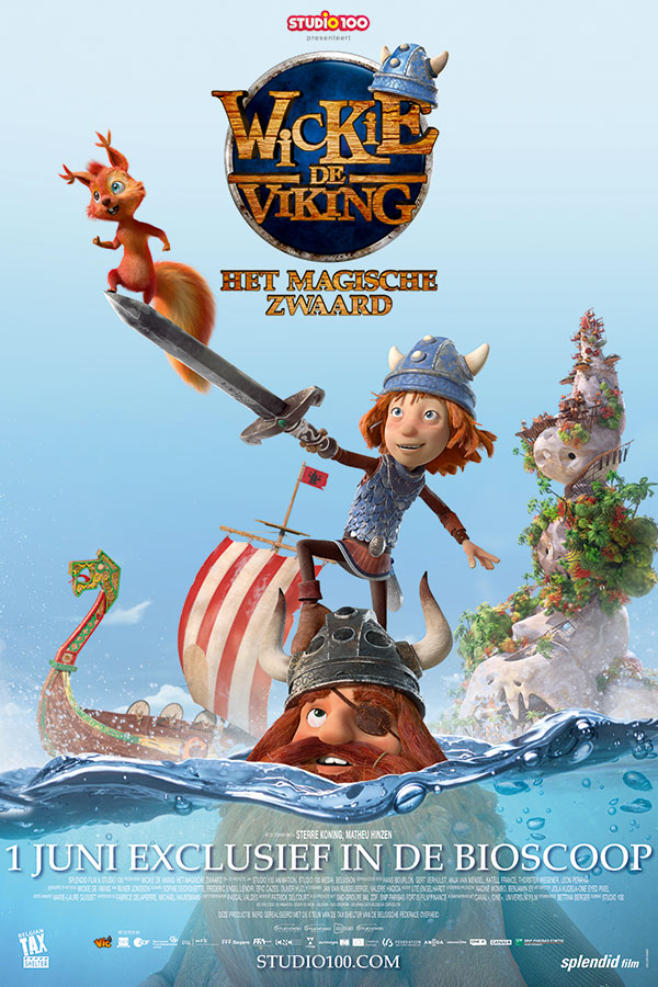 Wickie en het magische zwaard (Vic the Viking and the Magic Sword)
